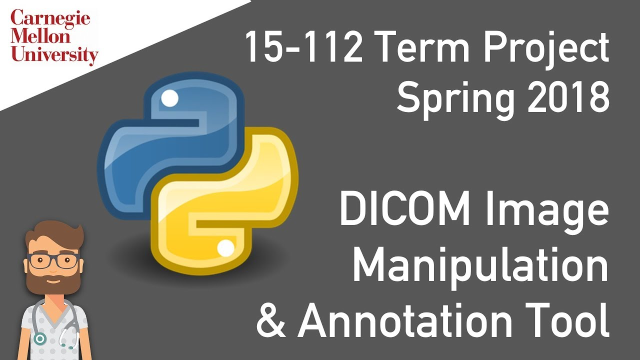 Basic Python-Based DICOM Image Manipulation & Annotation Tool (15-112 Term  Project)
