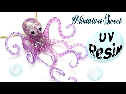 UV Resin Octopus- Charm- Tutorial- DIY