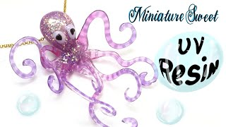 UV Resin Octopus- Charm- Tutorial- DIY