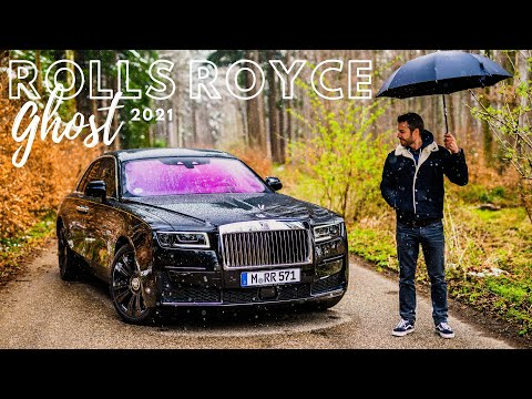brand new 2021 Rolls Royce Ghost with white interior / The Supercar Diaries