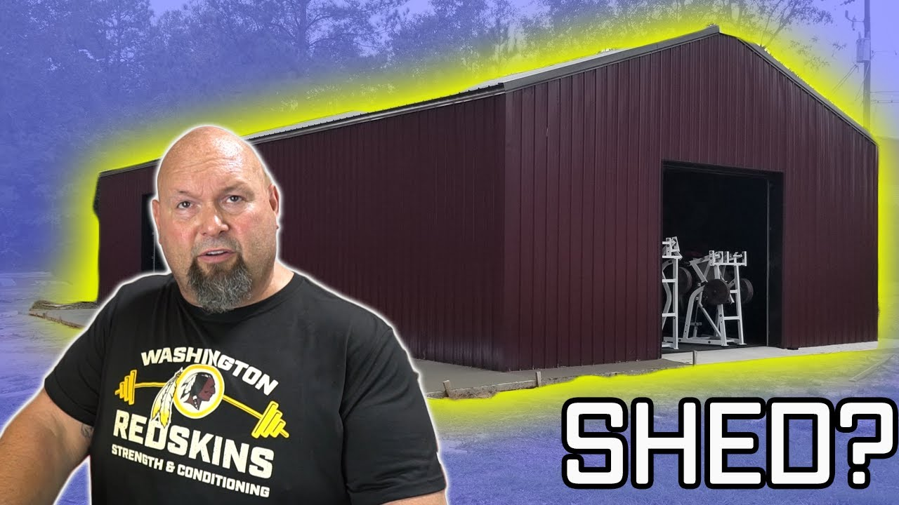 The ULTIMATE garage gym set up Ft Donnie Thompson