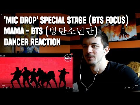 'MIC Drop' Special Stage (BTS focus) @MAMA - BTS (방탄소년단) | Dancer Reaction