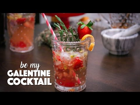 Balsamic + Strawberry Sparkling Cocktail | Episode 4