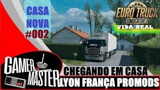 ETS2 VIDA REAL I CHEGANDO EM CASA