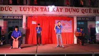 Bay qua biển đông+Bâng khuâng trường sa- Guitar+ Cajon+ Sáo Trúc+ Beatbox-THPT Nguyễn Thị Minh Khai