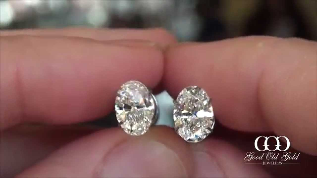 ctw one double forever gold ghi unique brilliant halo statement ed set bridal white diamond moissanite