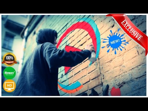 spray-painting-my-name-on-a-wall---templates-based-animated-videos
