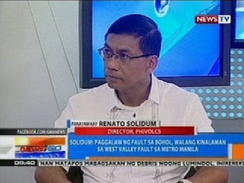 NTG: Fault na naging sanhi ng lindol sa Bohol, natunton ng Phivolcs