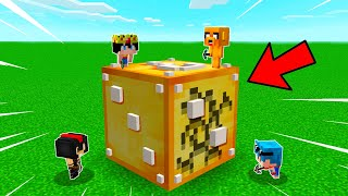 ABRIMOS los DADOS de la SUERTE GIGANTES en MINECRAFT!! 😱 Minecraft Mods