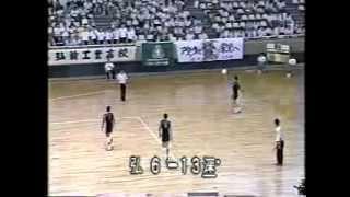 深谷高校バレー部全国初制覇 1983年総体(静岡)5/5