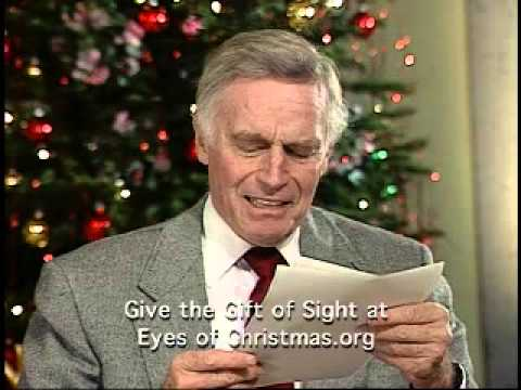 Charlton Heston reading of yes Virginia, there really is a Santa Claus...