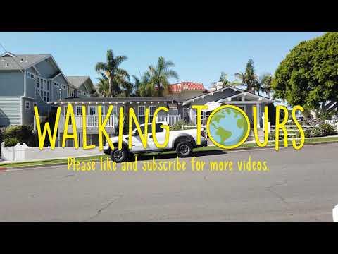 Carlsbad CA | San Diego | 4K Walking Tour