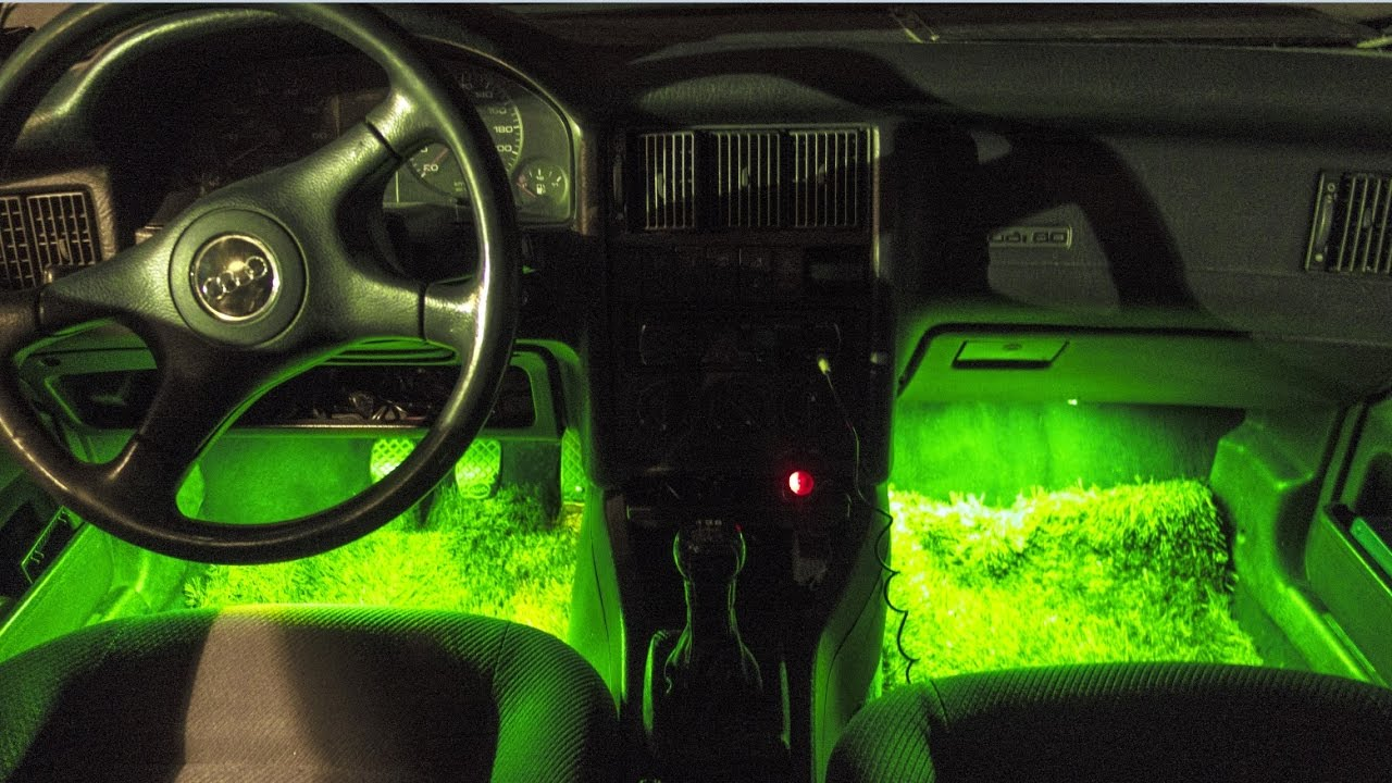 como instalar luces led en el interior del coche youtube