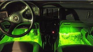 Como instalar Luces LED en el interior del Coche