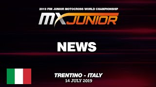 FIM MXJunior 2019 Trentino - News Highlights