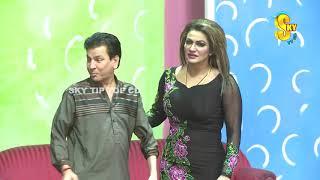 Tariq Teddy With Saima Khan and Asif Iqbal Stage Drama Layi Lagg Imran Shoki Full Comedy Clip 2019