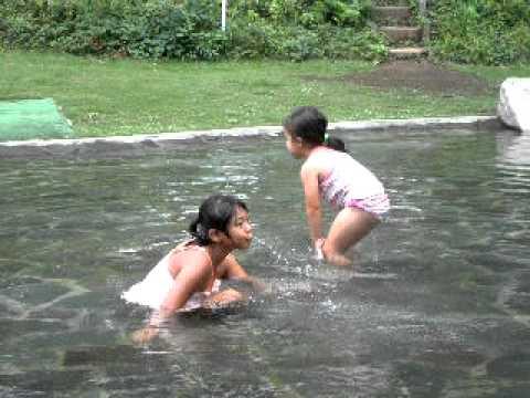 北本子供公園水遊び(3)