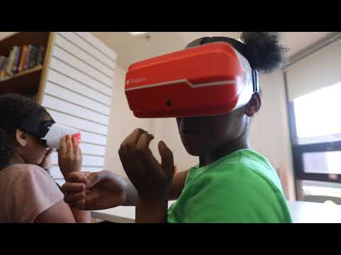 Parkway Elementary students experience virtual reality at school
