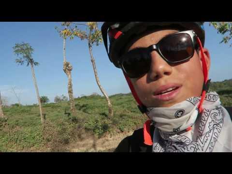 Exhausting 8 Hour Biking Jungling Eating Adventure!