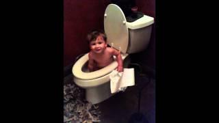 Gavin potty training