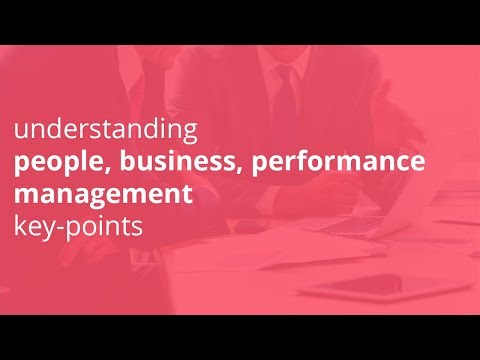 understanding management, people management, business management key points
