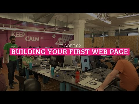 HTML Show - Episode 2: Building Your First Web Page