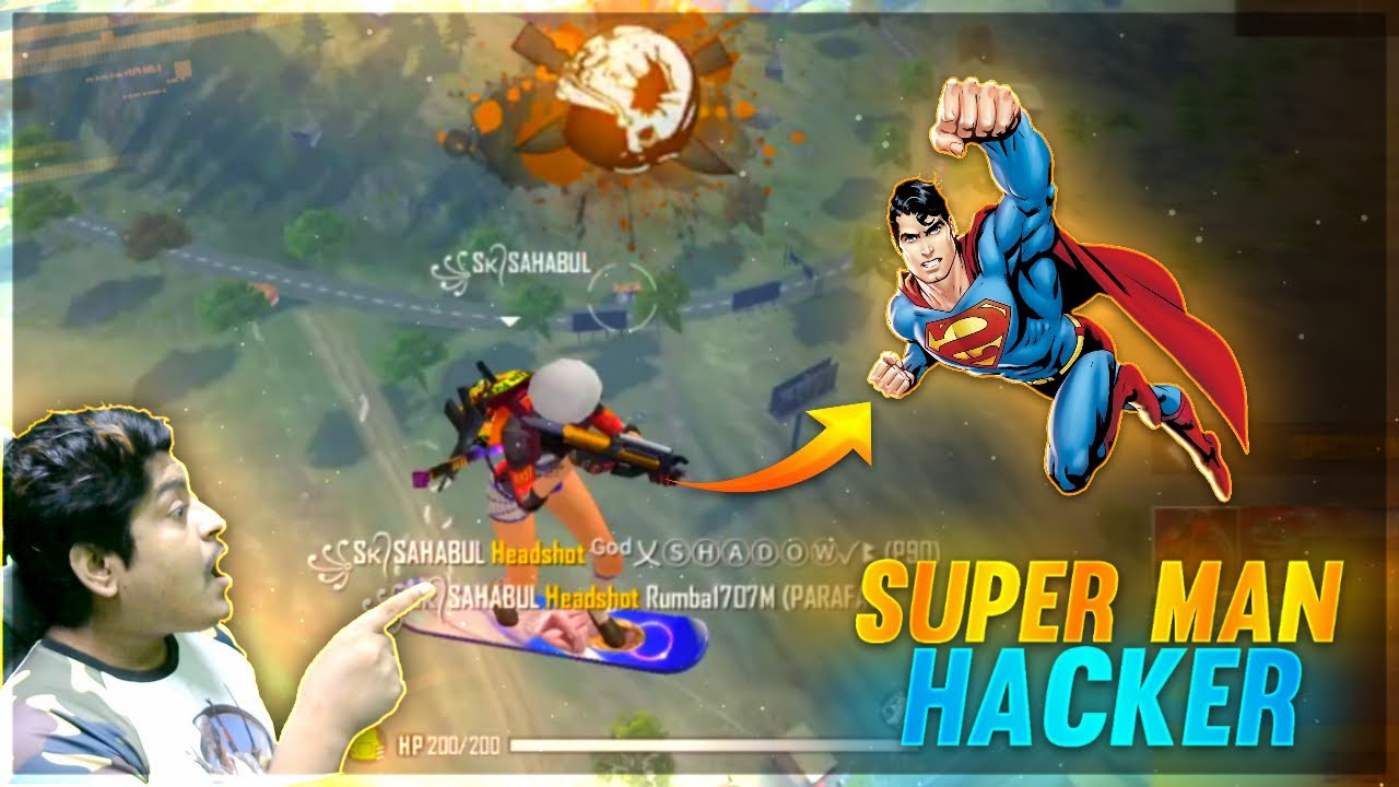 Superman Hacker K/D RATIO 😲916.00 | Live Hacker Banned | Garena Free Fire
