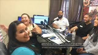 Brenda Anz on GenX 99.1 FM interviewing Dr Robert Natividad & Staff from Elite Chiropractic & Rehab