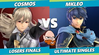 8.0 Gimvitational Losers Finals - T1 | MkLeo (Marth) Vs. Cosmos (Corrin) SSBU Ultimate Tournament