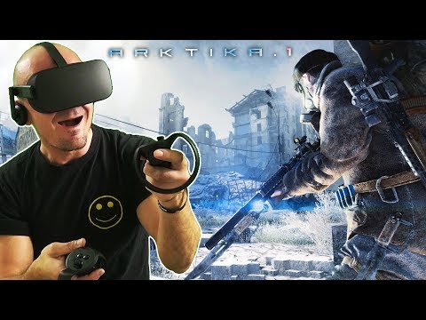 POST-APOCALYPTIC FPS IN VIRTUAL REALITY | ARKTIKA.1 Oculus Rift Gameplay #1