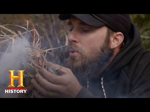 30 DAY SURVIVAL CHALLENGE (1 MOOSE, NO TOOLS) | Alone: The Beast | History