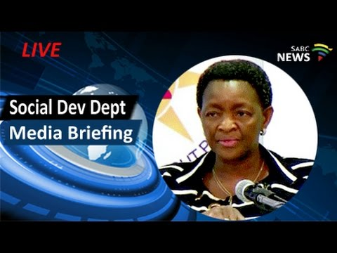 Social Development Minister Dlamini briefs media, 05 March 2017