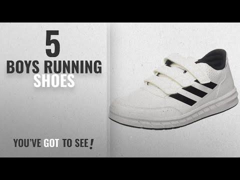 top-10-boys-running-shoes-[2018]:-adidas-unisex-kids'-altasport-cf-k-gymnastics-shoes,-off-white