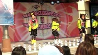 ダンスイベント in USJ 女子4人ユニット