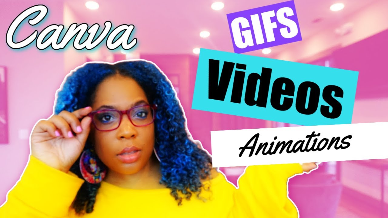 How to make an animated gif in Canva - Canva Pro Tutorial ...