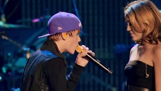 Download Lagu Justin Bieber ft. Miley Cyrus Overboard from Never say Never(2011) HQ mp3