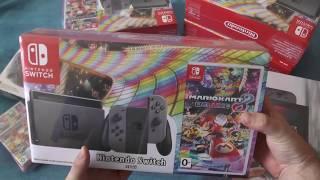 Купил Nintendo Switch - Распаковка