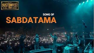 LIVE Song of Sabdatama - JHF Kustomfest 2019