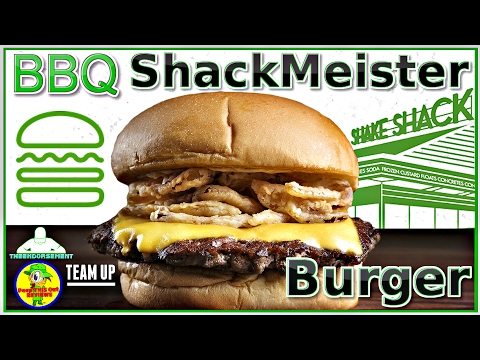 SHAKE SHACK® | BBQ SHACKMEISTER BURGER REVIEW | W/ PEEP THIS OUT!