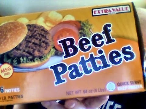 Beef Patties  Count Food City