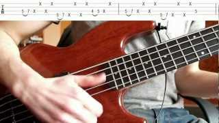 Very Fast Slapping (Bass Tutorial with TABS)