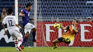 Laos vs Malaysia: AFF Suzuki Cup 2012