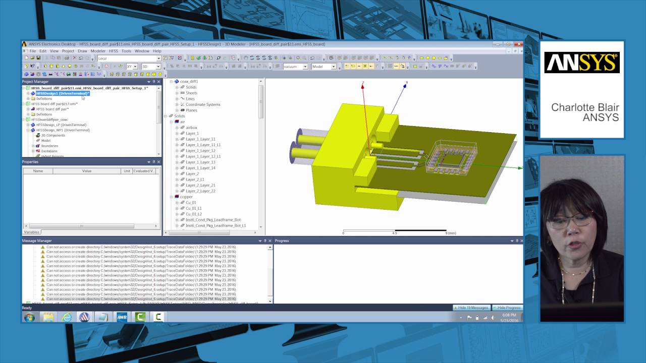 Awr Connected Ansys Hfss Youtube Designer Rf Circuit Design And Simulation Software Applied