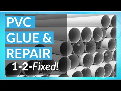 PVC Pipe and Plastic Repair | 1-2-Fixed with Tech-Bond