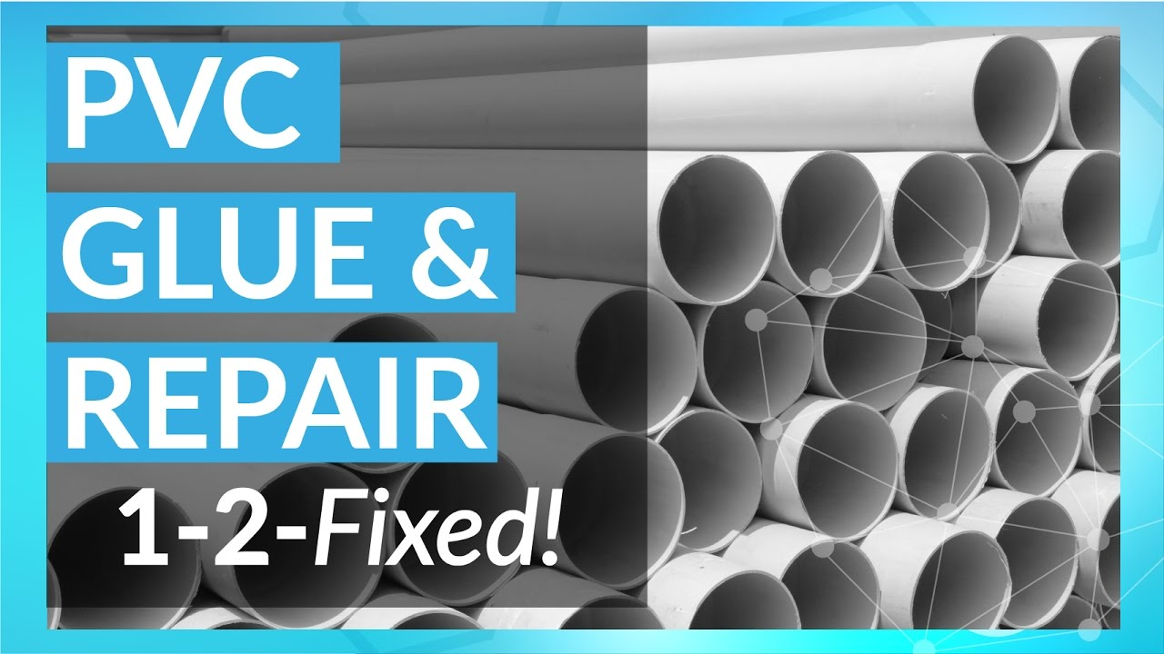 PVC Pipe and Plastic Repair | 1-2-Fixed with Tech-Bond - YouTube