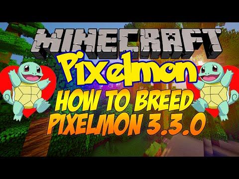 How to Breed in Pixelmon 3.3.0! [Pokémon...