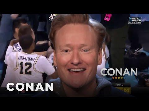 CONAN's March Madness Ad  - CONAN on TBS