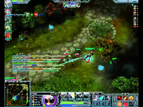 видео: Обзор игры heroes of newerth- (fayde)
