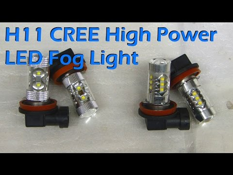 LED Fog Light CREE H11 Review & Install - Gearbest.com