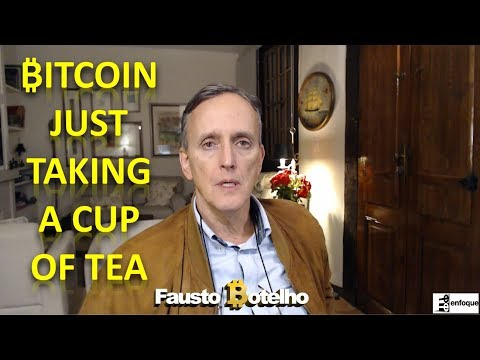 ₿itcoin JUST TAKING A CUP OF TEA AND COINS WE'RE LOOKING AT - 동영상